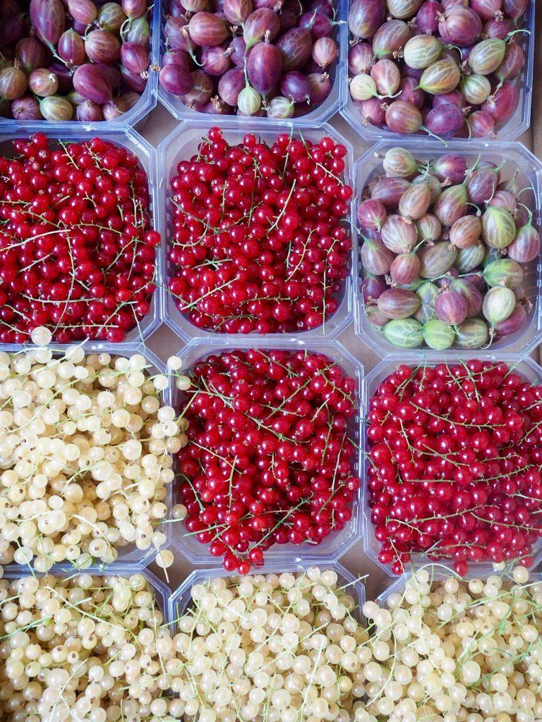 Stikkelsbærsyltetøy med vanilje