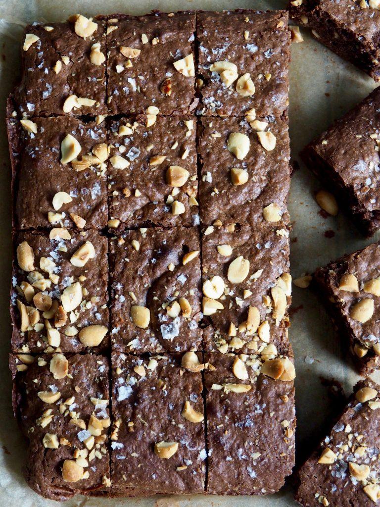 Peanøttsmør brownies