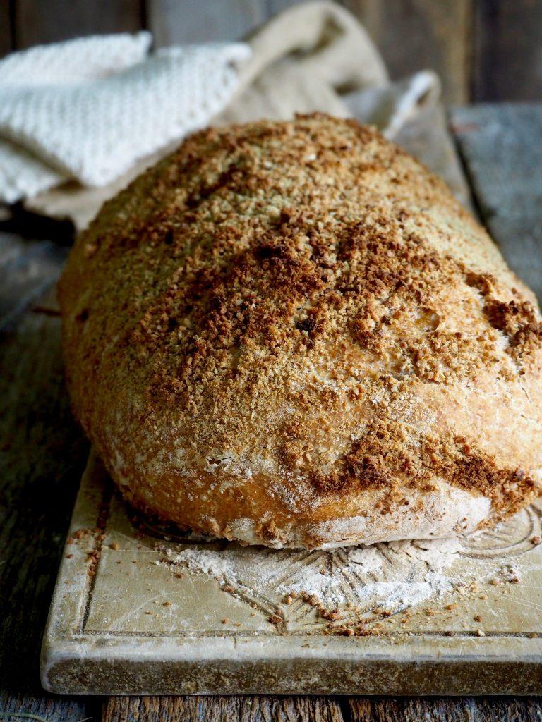 Eltefritt halvgrovt brød med solsikkekjerner