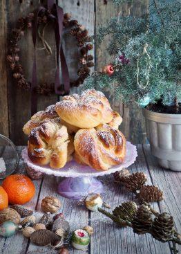 Juleboller med marsipan og sukat