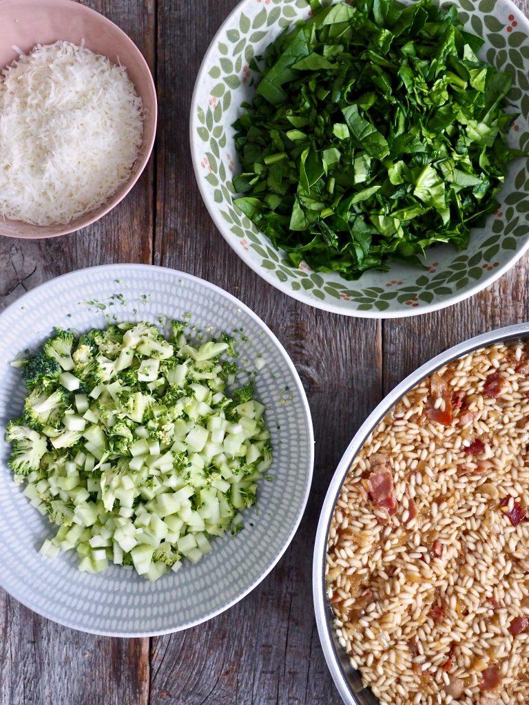 Grønn risotto