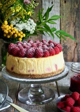 Klassisk ostekake med bær