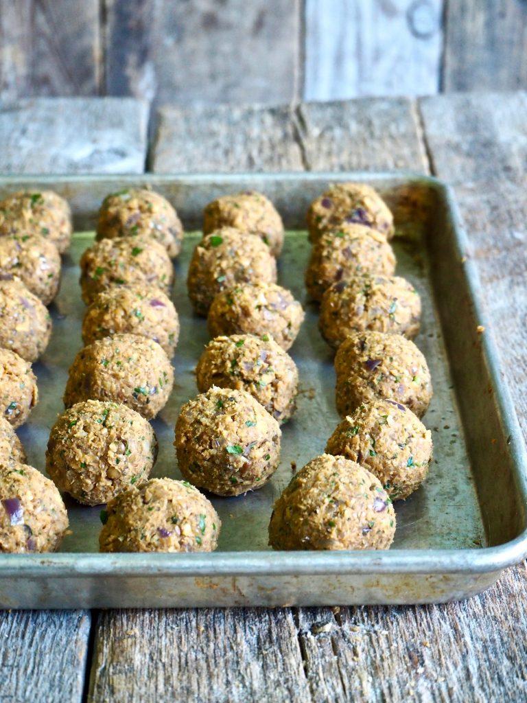 Kjøttfrie kjøttboller - linseboller