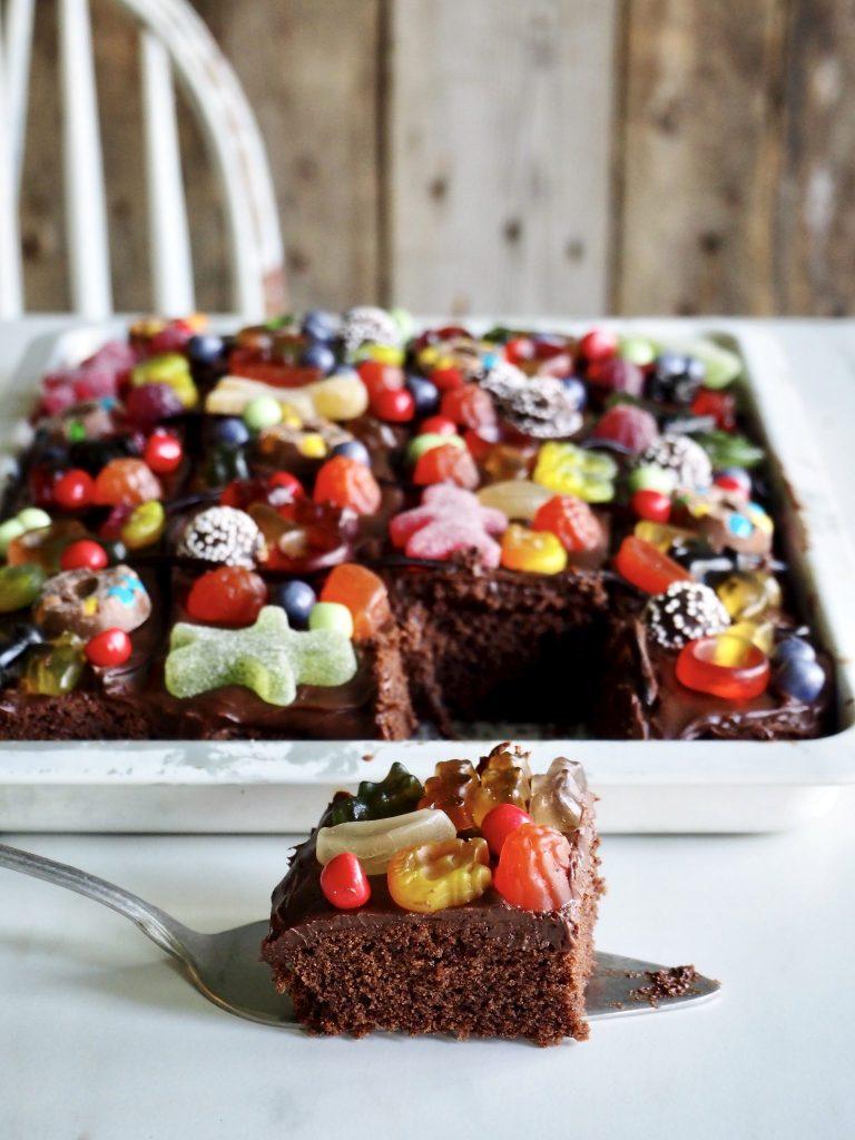 Crazy sjokoladekake i langpanne