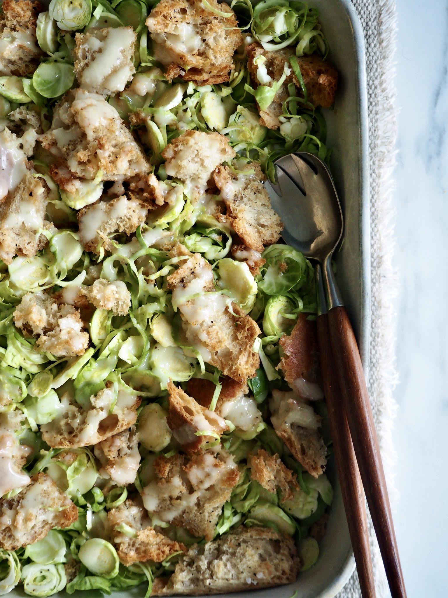 Cæsarsalat - med rosenkål