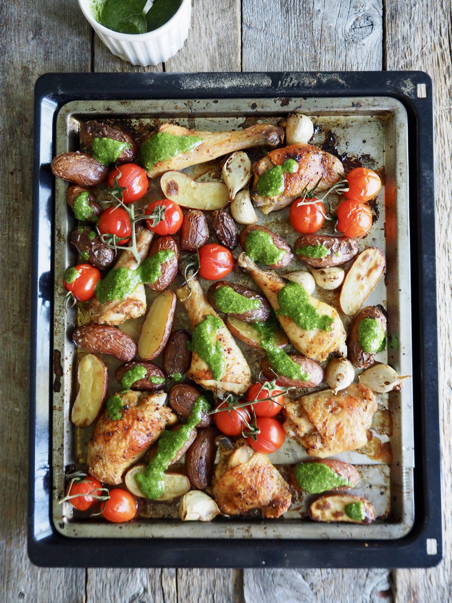 Lettvint kylling i langpanne