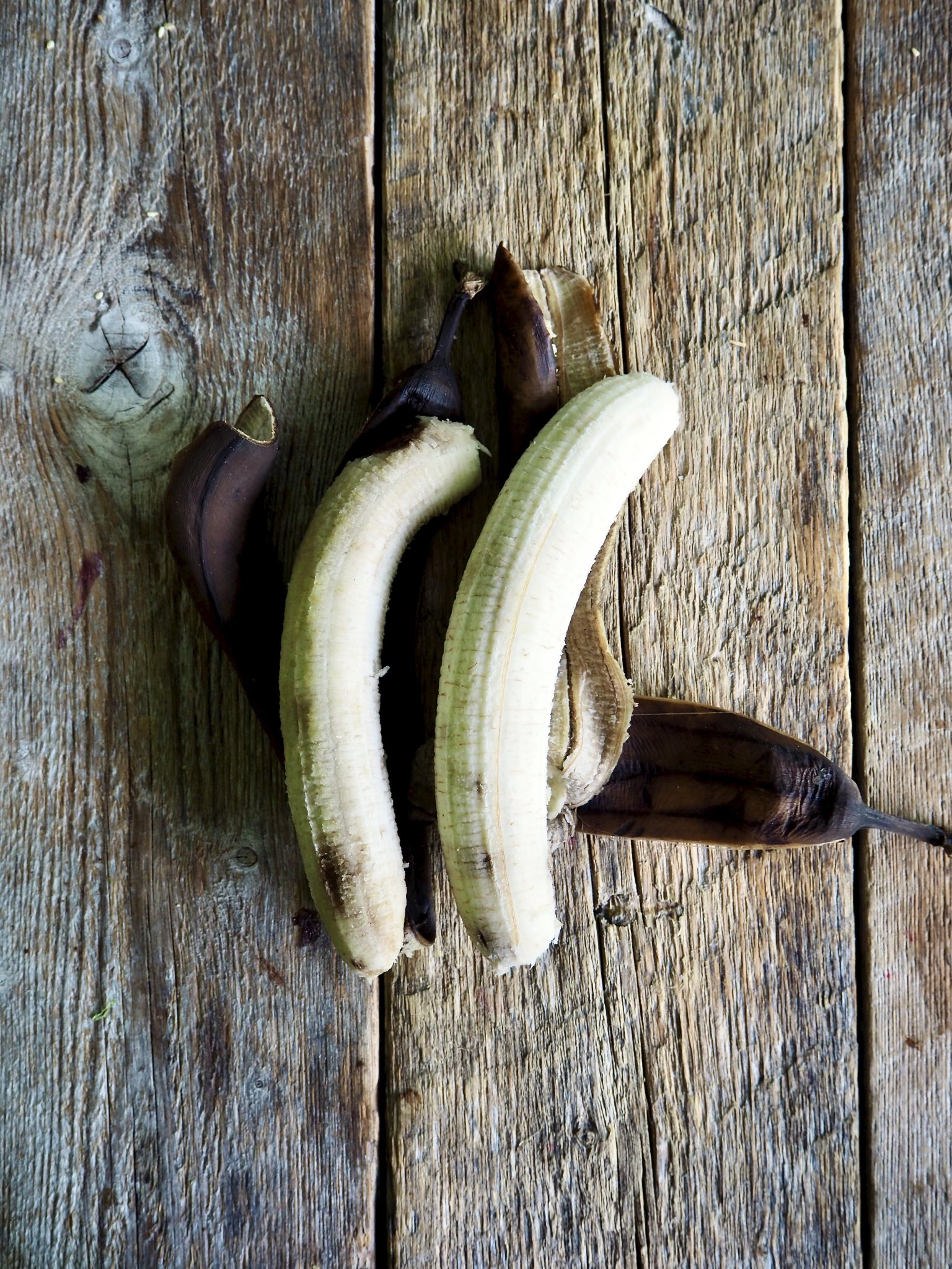 Brownies med brune bananer