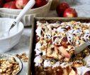 Enkel, eltefri søt focaccia med kanel og epler