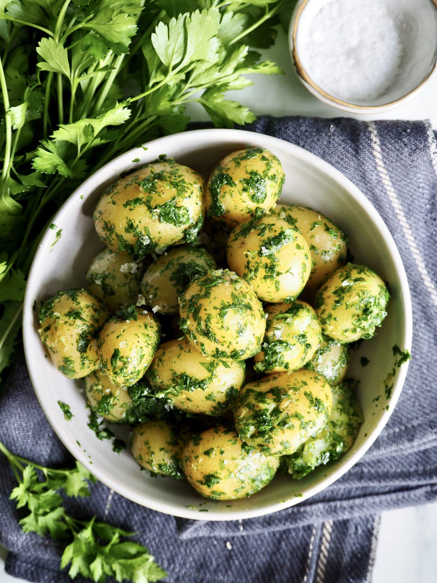Persillepoteter, din nye favoritt potetoppskrift!