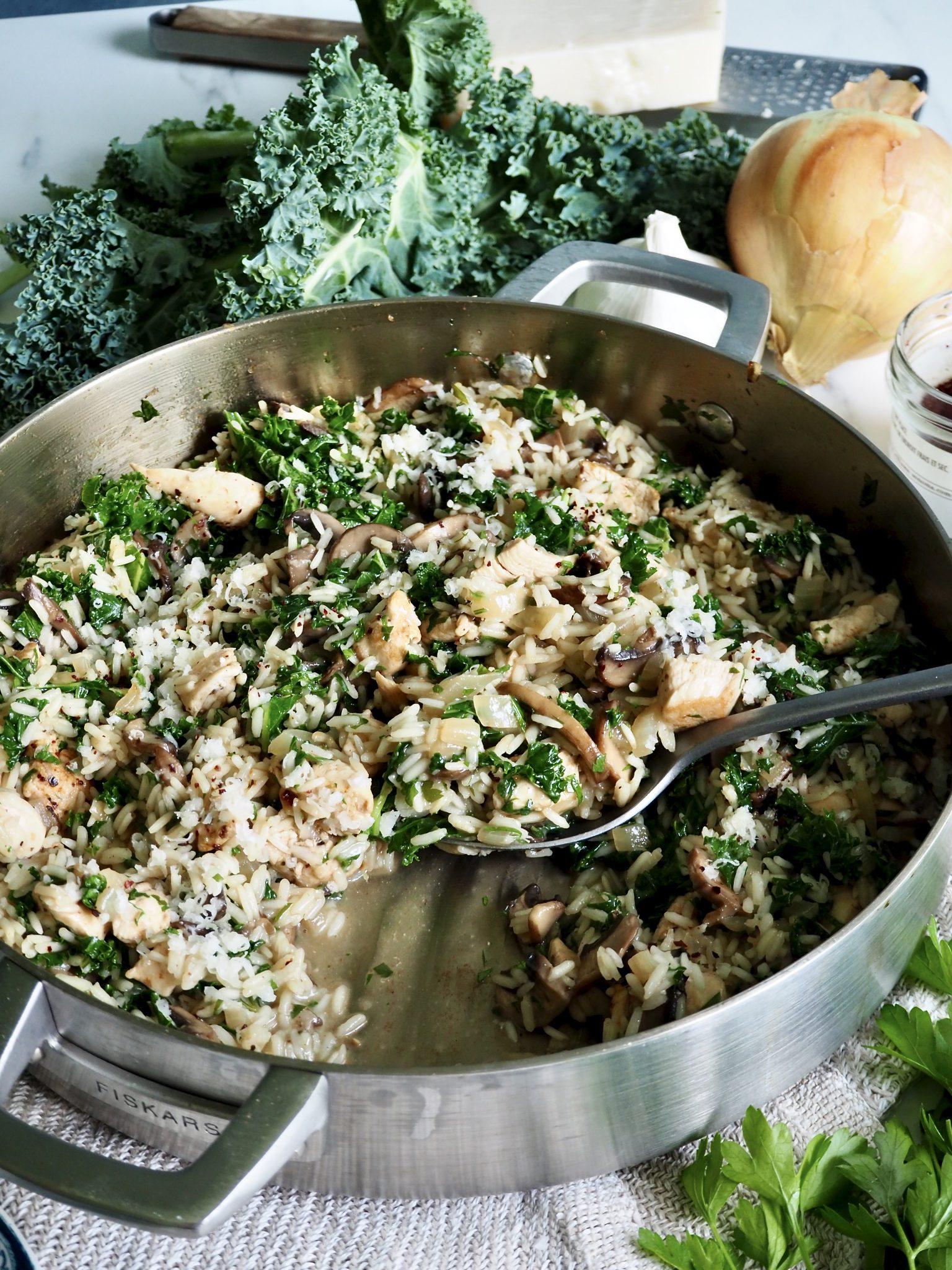 One pot kylling med ris - middag på 20 minutter