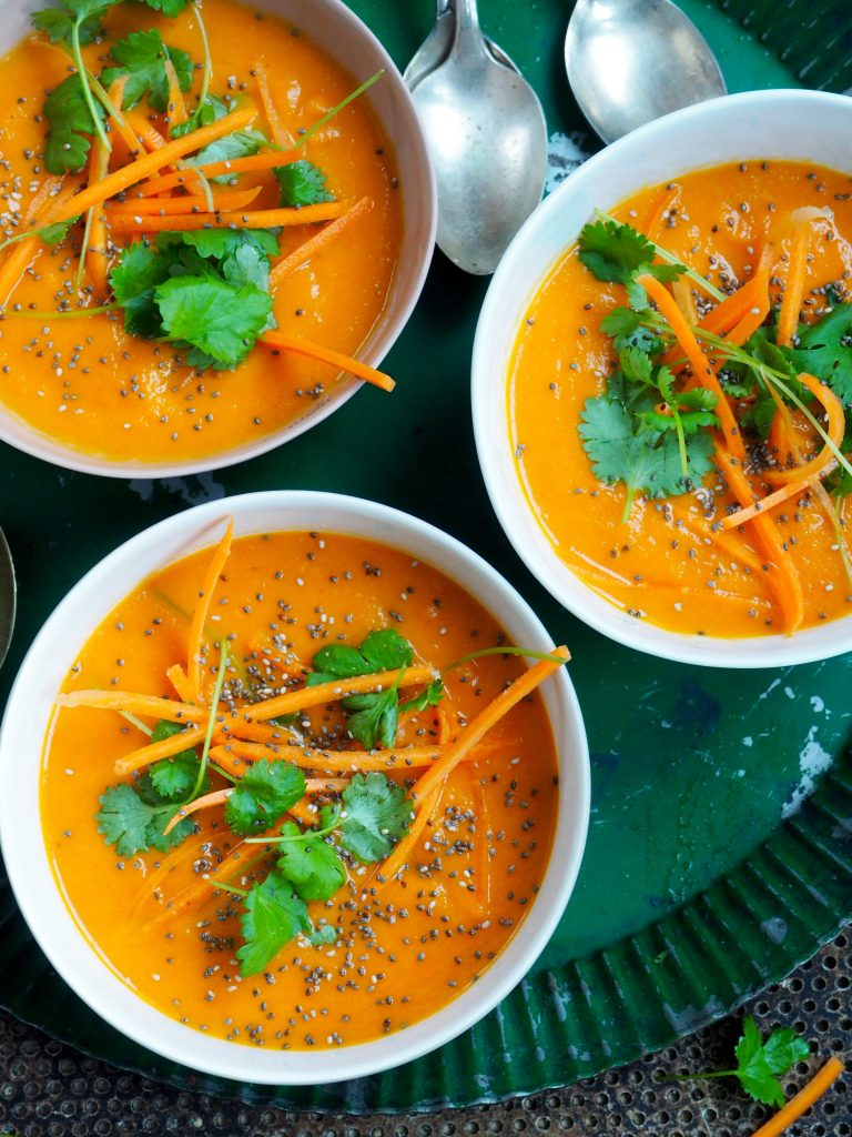 spicy gulrotsuppe