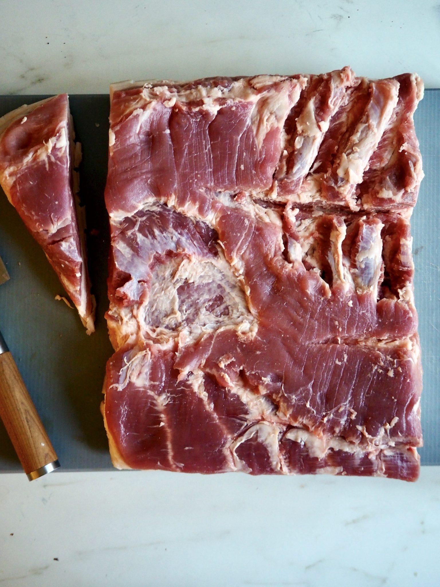 Porchetta - italiensk ribberull