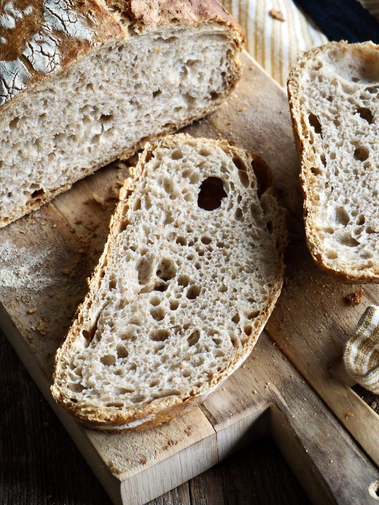 Eltefritt speltbrød - det beste brødet helt enkelt