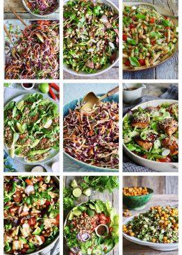 13 salatoppskrifter
