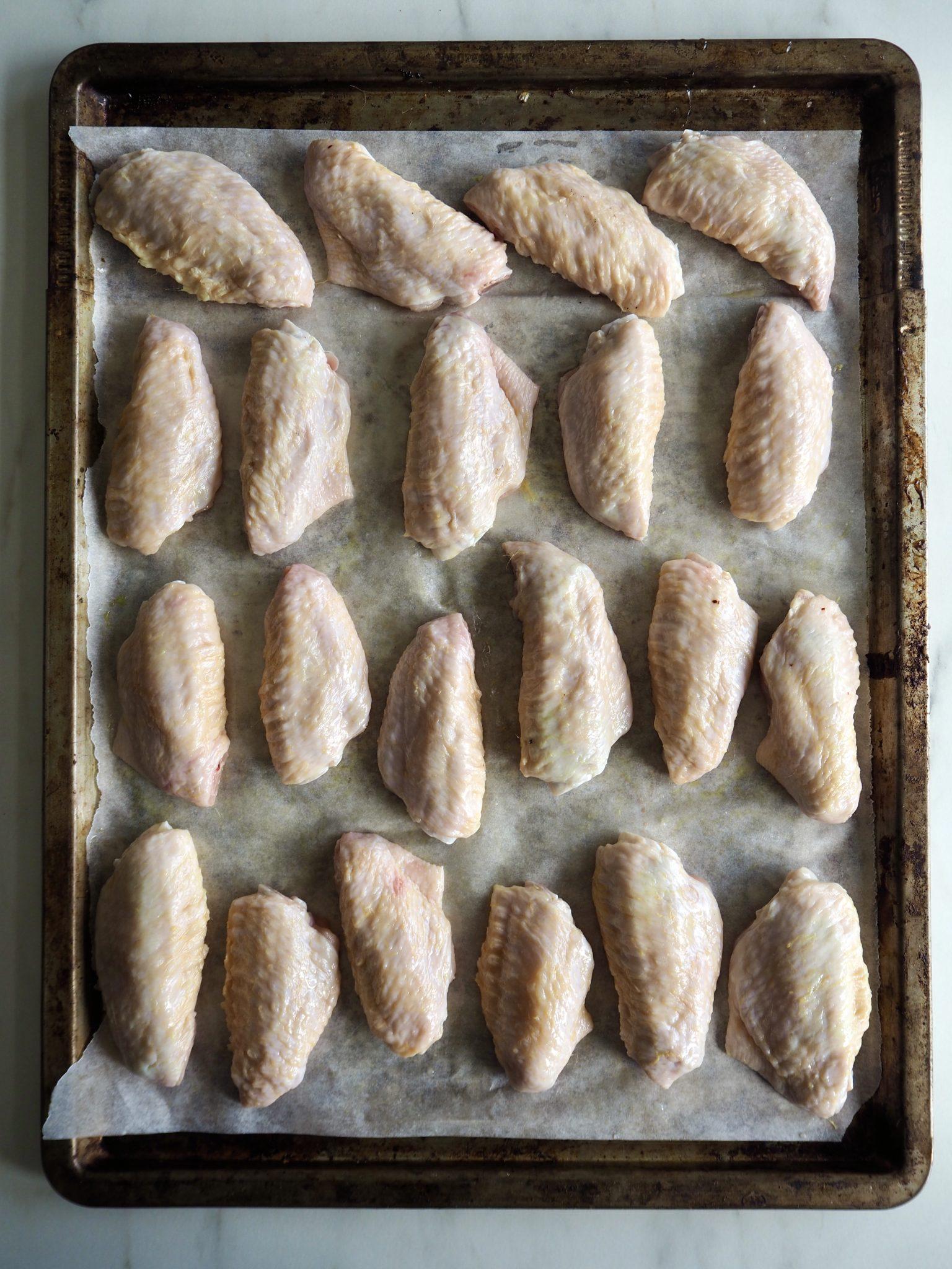 Asiatiske kyllingvinger - spicy, sprøe og vanvittig gode!