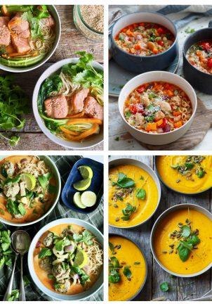 7 supper - ukens oppskrifter