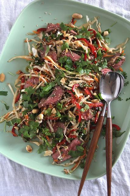 asiatisk biffsalat