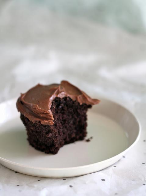 De beste sjokolade cupcakes