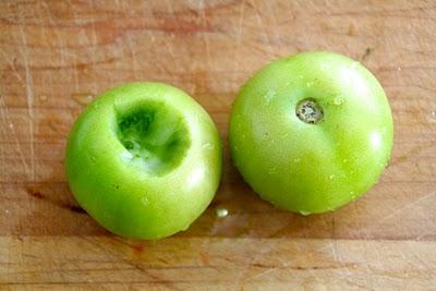 Grønn tomat chutney