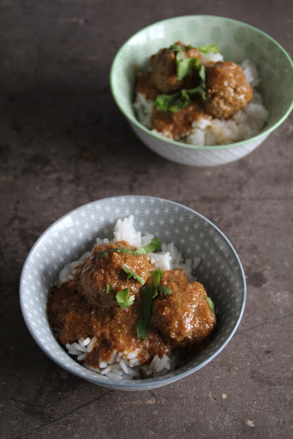 indiske kjøttboller