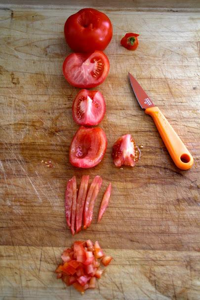 salsa fresca med reker