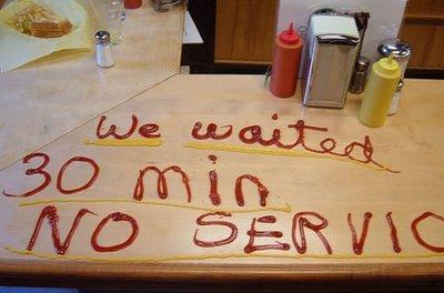 Er du misfornøyd på restaurant?