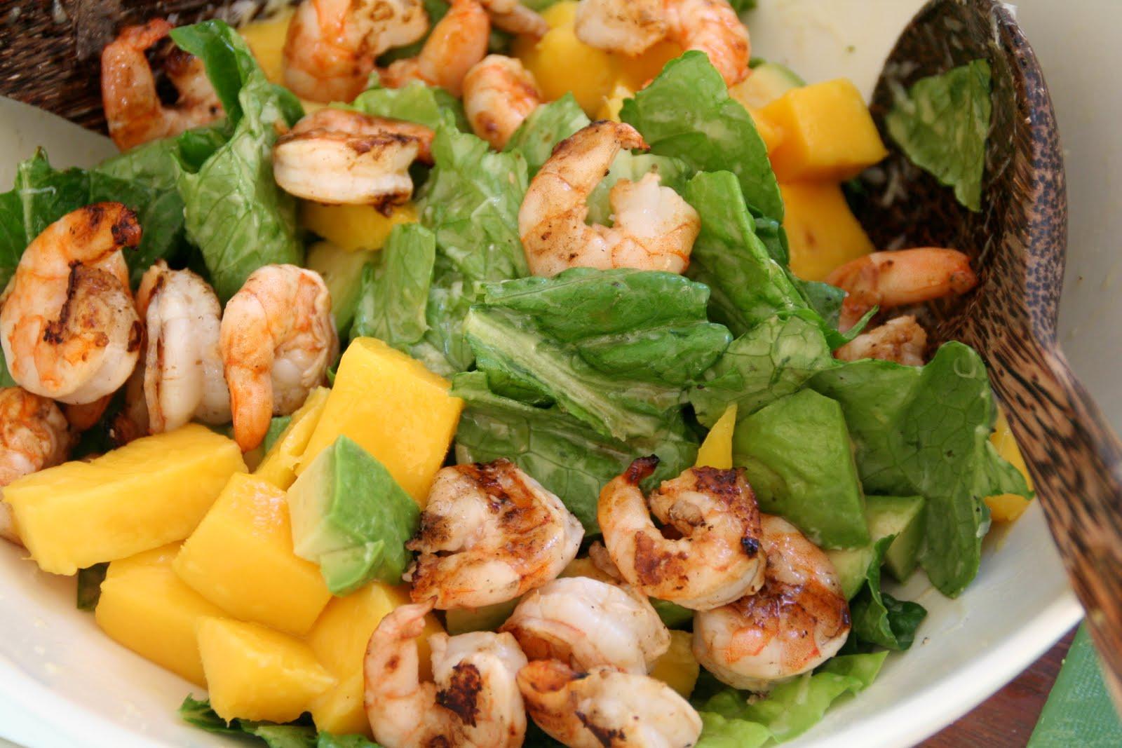 Salat Med Scampi Mango Og Avokado Mat P 229 Bordet