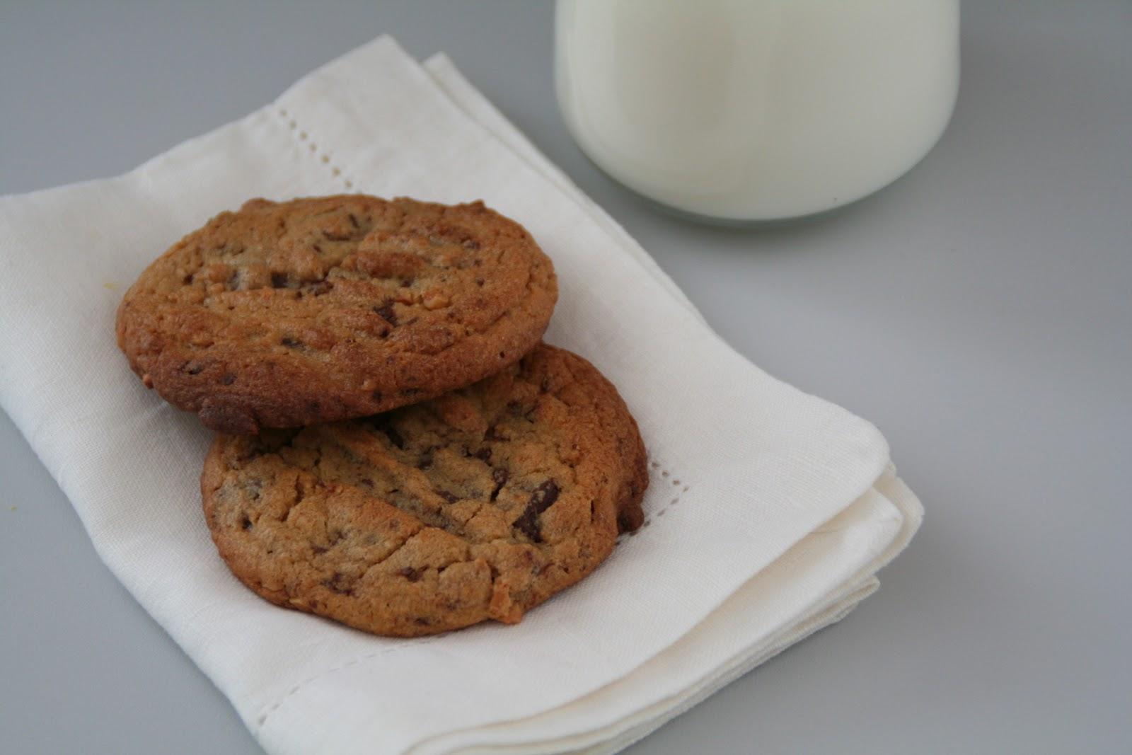 113731eda Chocolate chip cookies med peanøttsmør - Mat På Bordet